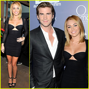 Miley Cyrus: Australians in Film Awards with Liam Hemsworth!