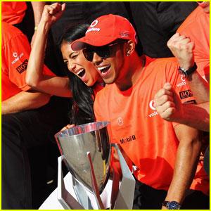 Nicole Scherzinger: Lewis Hamilton Wins Canadian Grand Prix!