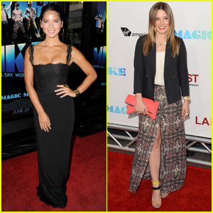 Olivia Munn & Sophia Bush: 'Magic Mike' Premiere!
