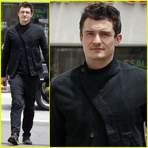 Orlando Bloom: Motorcycle Man!
