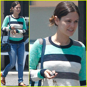 Rachel Bilson: Burbank Lunch with Hattie & Rosemary!