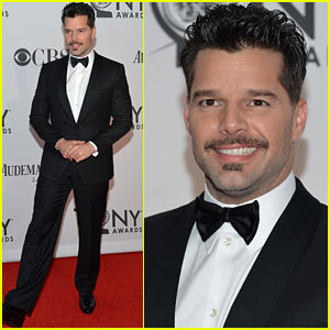Ricky Martin - Tony Awards 2012 Red Carpet