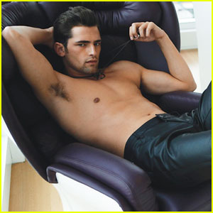Sean O'Pry: Shirtless for 'Da Man' June/July 2012
