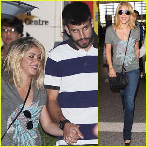 Shakira & Gerard Pique: Euro 2012 in Poland!