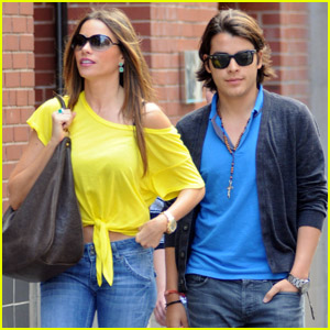 Sofia Vergara: Soho Shopper with Son Manolo!