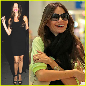 Sofia Vergara: Wolseley Restaurant Night Out!