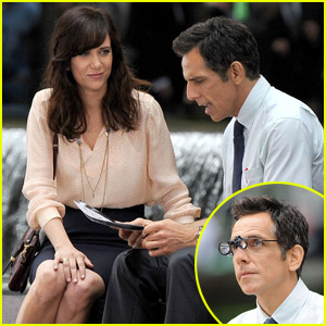 Kristen Wiig: 'Walter Mitty' Set with Ben Stiller!