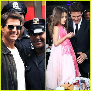 Tom Cruise: NYPD Meet-and-Greet!