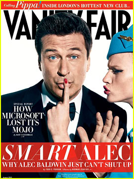 Anne V & Alec Baldwin Cover 'Vanity Fair' August 2012