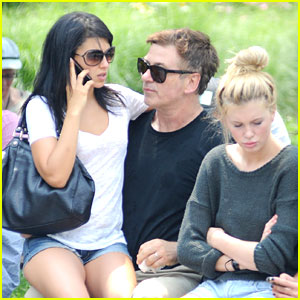 Alec Baldwin: Morning After Wedding with Ireland & Hilaria!