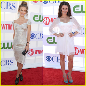 AnnaLynne McCord & Jessica Lowndes: TCA Summer Party 2012!