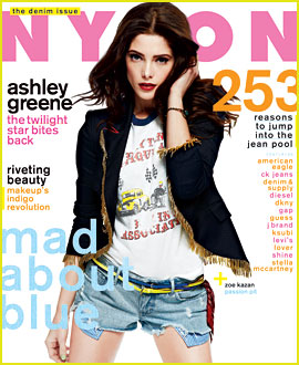 Ashley Greene Covers 'Nylon' August 2012