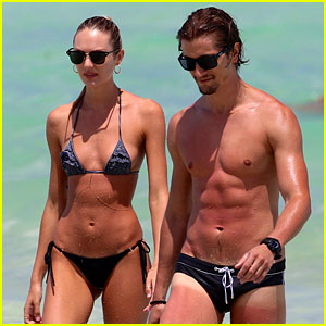 Candice Swanepoel: Bikini Babe with Hermann Nicoli!