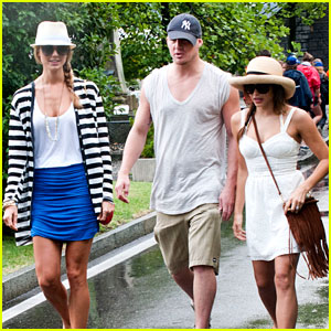 Channing Tatum & Jenna Dewan: Italy with Stacy Keibler!