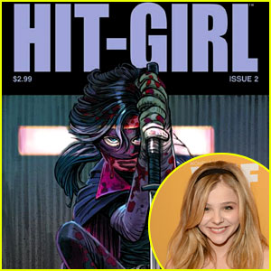 Chloe Moretz: 'Hit Girl: Issue 2' Out Now!