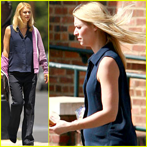 Claire Danes Debuts Baby Bump After 'Emmy' Nomination!