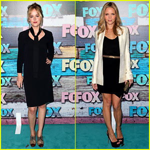 Dakota Johnson & Jordana Spiro: Fox All-Star Party!