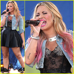 Demi Lovato: 'Good Morning America' Concert Series Performer!