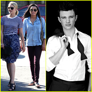 Dianna Agron &#038; Naya Rivera: Whole Foods Grocery Run!