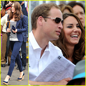 Duchess Kate & Prince William Watch Zara Win Silver Medal!