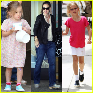 Jennifer Garner, Violet, & Seraphina: Girls' Day Out!