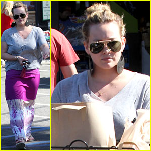 Hilary Duff: Ralph's Grocery Gal!