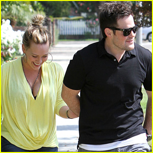 Hilary Duff & Mike Comrie: 4th of July with Haylie!