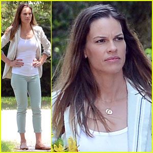 Hilary Swank Battles Malaria for 'Mary & Martha'