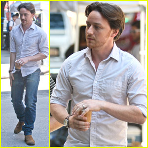 James McAvoy: 'Disappearance of Eleanor Rigby' Set!