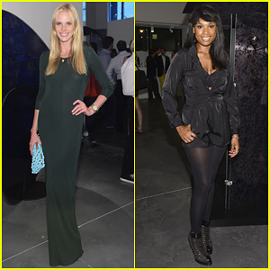 Jennifer Hudson & Anne V: Andrew Levitas Exhibition!