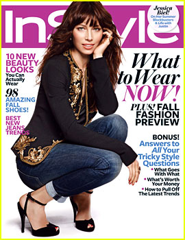 Jessica Biel Talks Justin Timberlake with 'InStyle'
