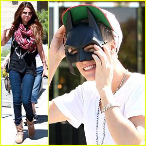 Justin Bieber: 'Dark Knight Rises' Date with Selena Gomez!