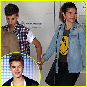Justin Bieber &#038; Selena Gomez Visit Children's Hospital