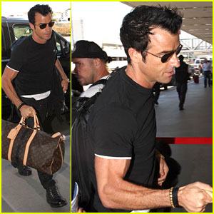 Justin Theroux: Up in the Air!