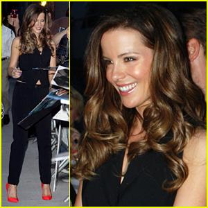 Kate Beckinsale Reads 'Moby Dick' on 'Jimmy Kimmel'!