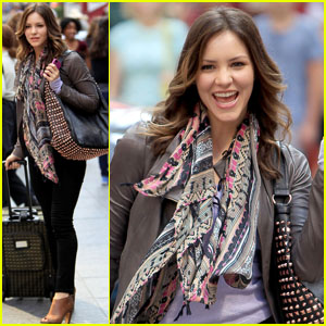 Katharine McPhee: 'Smash' Filming in Times Square!