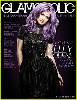 Kelly Osbourne Covers 'Glamoholic' Anniversary Issue