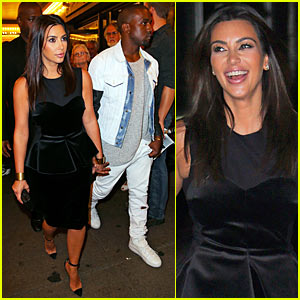 Kim Kardashian: 'Book of Mormon' with Kanye West!