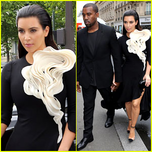 Kim Kardashian: Stephane Rolland Show with Kanye West!