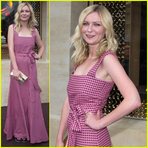 Kirsten Dunst: Louis Vuitton Boutique Opening!