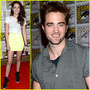 Kristen Stewart &#038; Robert Pattinson: 'Twilight' Comic-Con Panel!
