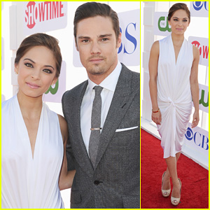 Kristin Kreuk & Jay Ryan: TCA Summer Party 2012!