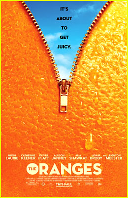 Leighton Meester & Adam Brody: 'Oranges' Poster - Exclusive!