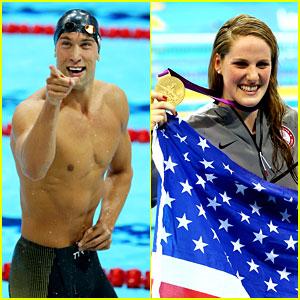 Matt Grevers & Missy Franklin Win Gold Medals for USA!