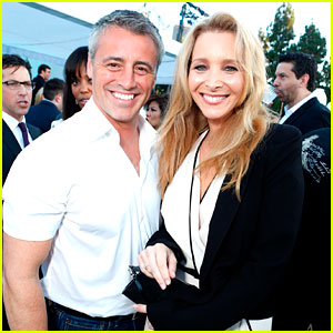 Lisa Kudrow &#038; Matt LeBlanc: 'Friends' Reunion at TCA Party!