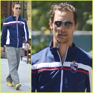 Matthew McConaughey: 'Check Out Woody Harrelson's Play!'