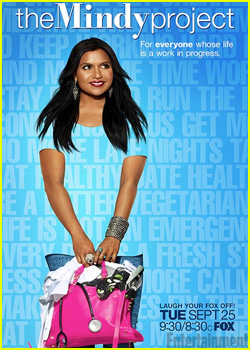 Mindy Kaling: 'The Mindy Project' Poster - First Look!