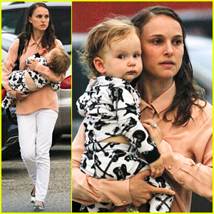 Natalie Portman: Dinner Date with Baby Aleph!