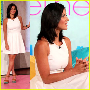 Olivia Munn Pole Dances for Bethenny Frankel