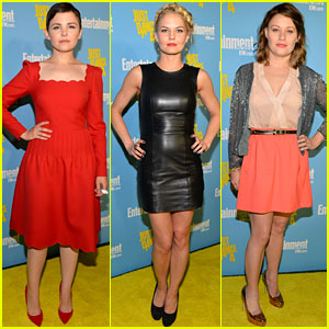Ginnifer Goodwin & Jennifer Morrison: 'Once Upon A Time' at Comic-Con!